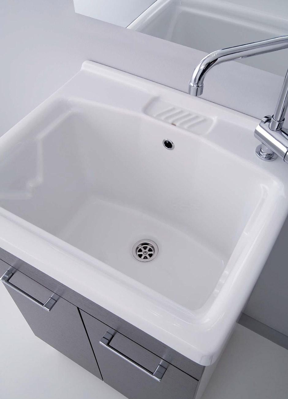 Lavabi in ceramica Serie Oceano